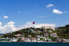 Of Istanbul Bosporus seafront, Turkey. Royalty Free Stock Image