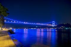 Istanbul bridge royalty free stock photo