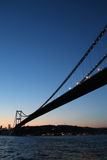 Istanbul bro Royaltyfri Bild
