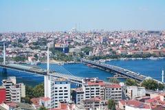 Istanbul broar Fotografering för Bildbyråer