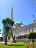 Istanbul buildings sultan ahmed mosque Royalty Free Stock Photography