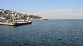 Istanbul Burgazada Princess Island stock video footage