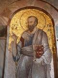 Istanbul Bysantine Mosaics Stock Photography