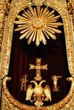 Istanbul, Byzantine symbol Royalty Free Stock Images