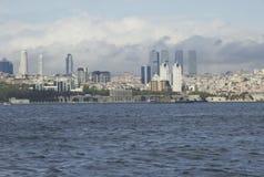 Istanbul, côte de ville, horizon Photo stock