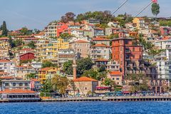 Istanbul côtier Image stock