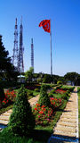 Istanbul Camlica Hill Communication Towers Stock Photography