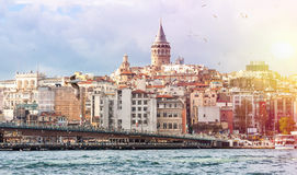 Istanbul the capital of Turkey Stock Images