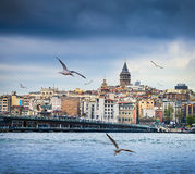Istanbul the capital of Turkey Royalty Free Stock Images