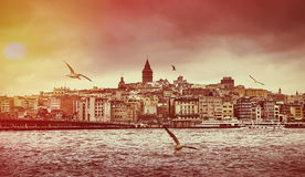 Istanbul the capital of Turkey Stock Photography
