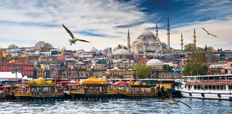 Istanbul the capital of Turkey Stock Photos