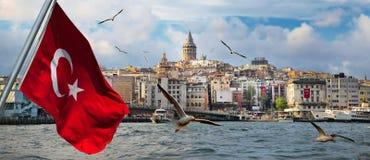 Istanbul the capital of Turkey stock photos