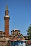 Istanbul church and mosque Royalty Free Stock Photos