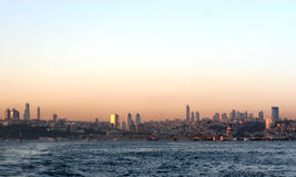 Istanbul city Royalty Free Stock Photos