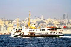 Istanbul city ferry Royalty Free Stock Photos