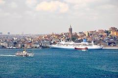 Istanbul city landscape Stock Photo