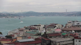 Istanbul city, nature view, December 2016, Turkey. Turkey, December 2016, HD 1080 stock footage