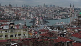 Istanbul city, nature view, December 2016, Turkey. Turkey, December 2016, HD 1080 stock video footage