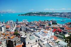 Istanbul city panorama Stock Image