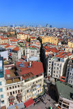 Istanbul city skyline Stock Photography