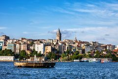 City Skyline of Istanbul royalty free stock photography