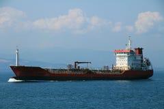 Istanbul city steamship Stock Photos
