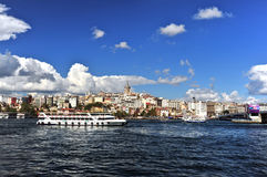 Istanbul City,Turkey Royalty Free Stock Photography