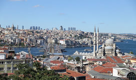 Istanbul City in Turkey Royalty Free Stock Photo