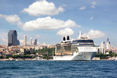 Istanbul city view Stock Images