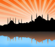 Istanbul city view Stock Photos