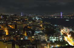 Istanbul city view Royalty Free Stock Image