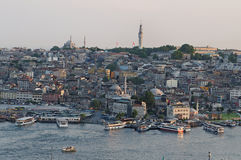 Istanbul city waterfront Stock Image
