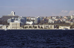 Istanbul cityscape. In spring, Turkey Royalty Free Stock Photo