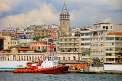 Istanbul Cityscape Royalty Free Stock Photo