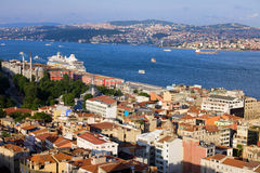 Istanbul Cityscape Royalty Free Stock Image