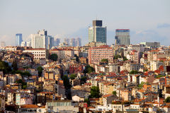 Istanbul Cityscape Royalty Free Stock Photo