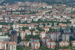 Istanbul Cityscape Royalty Free Stock Images