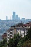 Istanbul cityscape Fotografering för Bildbyråer