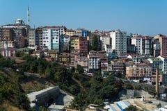 Istanbul cityscape Arkivbild