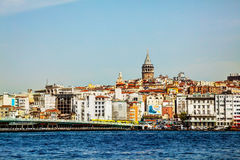 Istanbul cityscape with Galata tower Royalty Free Stock Photo