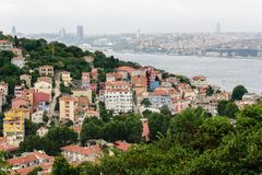 Istanbul cityscape Stock Photography