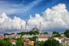 Istanbul Cityscape Stock Image