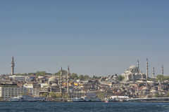 Istanbul Cityscape, Turkey Royalty Free Stock Image