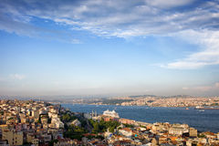 Istanbul Cityscape in Turkey Stock Photos