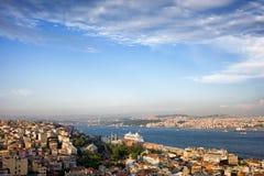 Istanbul Cityscape in Turkey Stock Photos