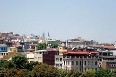 Istanbul cityview Royalty Free Stock Photos