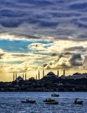 İstanbul cloud. Beautiful Royalty Free Stock Photo
