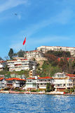Istanbul Coast, Asian side royalty free stock photography