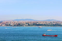 Istanbul Coast, Asian side Royalty Free Stock Photo