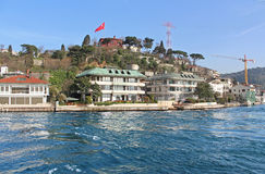 Istanbul Coast, Asian side, Turkey Stock Photo